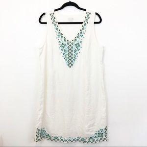 J.Jill Love Linen Sleeveless Dress Size L